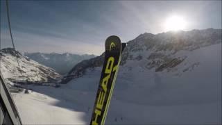 Skigebiet - Skigebiet Sölden, Gletscher 2017