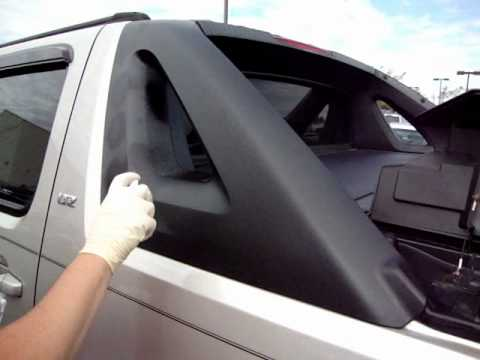 Tc Black Fusion Chevrolet Avalanche Side Panel How