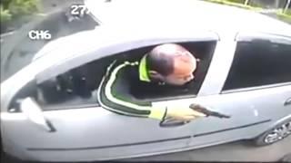 perampokan salah sasaran ternyata yang dirampok polisi