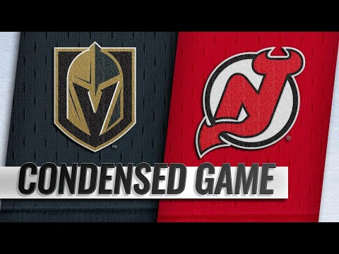 12/14/18 Condensed Game: Golden Knights @ Devils
