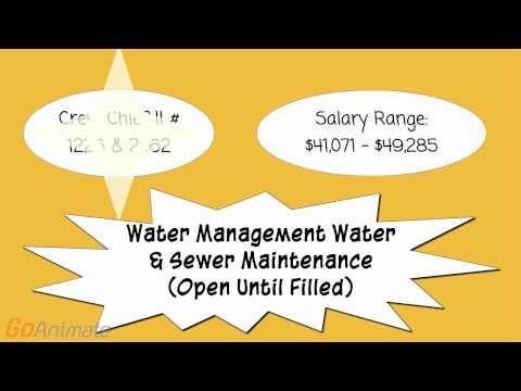 City Jobs - Water Management