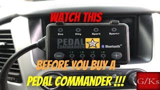 Dont Buy A Pedal Commander Till You Watch This!!!!!