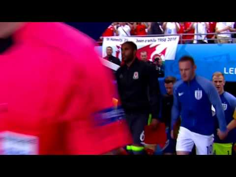 England vs Wales 2-1 Highlights (Euro 2016) HD 1080i (English Commentary)