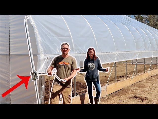 this LITTLE Box will MAKE GROWNG FOOD so much EASIER!  GreenHouse Build #18