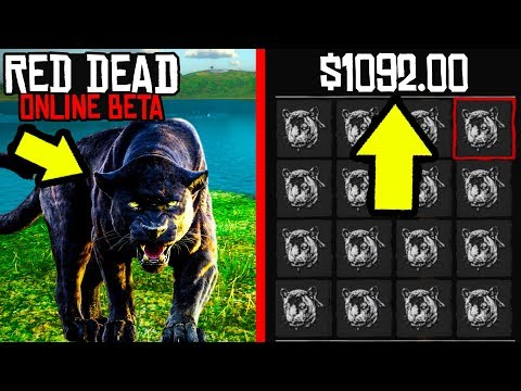 THIS SECRET ANIMAL WILL MAKE YOU $1000 in Red Dead Online! RDR2 Online Money Making Guide EASY!