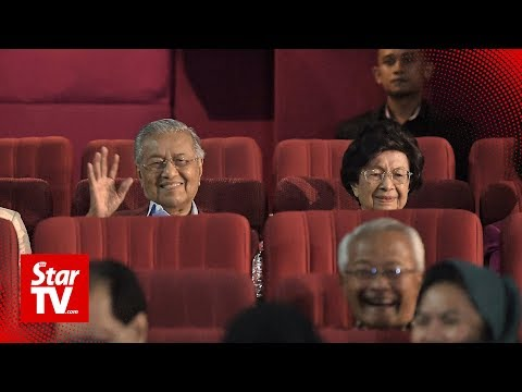 Tun Dr Mahathir Mohamad graces special screening of 'Raj Of The East'