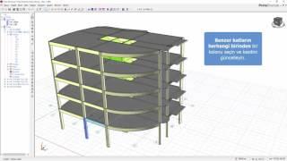 ProtaStructure ile Modelleme - Kat İşlemleri