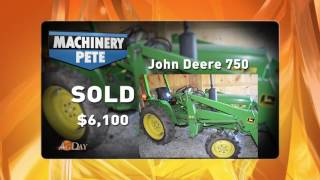 John Deere 20 HP Used Tractor Sold on Vermont Auction