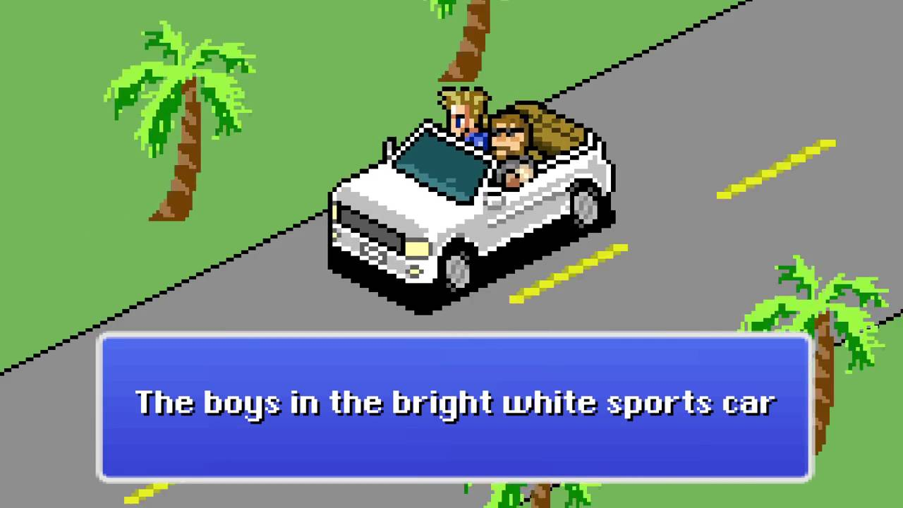 Merveilleux 8 Bit Trooper   Boys In The Bright White Sports Car