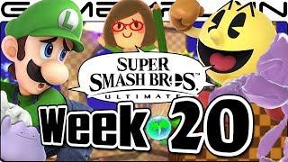 Smash Bros. Ultimate Update: Luigi, Pac-Man, Green Hill Zone, SotN Music, & Mystery Item - Week 20