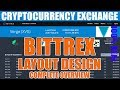 Bittrex New Layout Launch 2018 April - Cryptocurrency Exchange