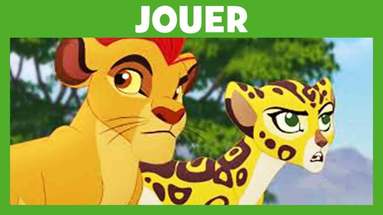 La Garde du Roi Lion - Jeu interactif : Trouve les objets !