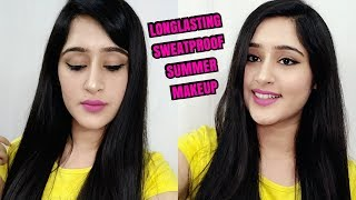 LONG- LASTING SUMMER MAKEUP for OILY SKIN, NORMAL SKIN & DRY SKIN