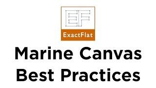 Marine Canvas Pattern Making Best Practices