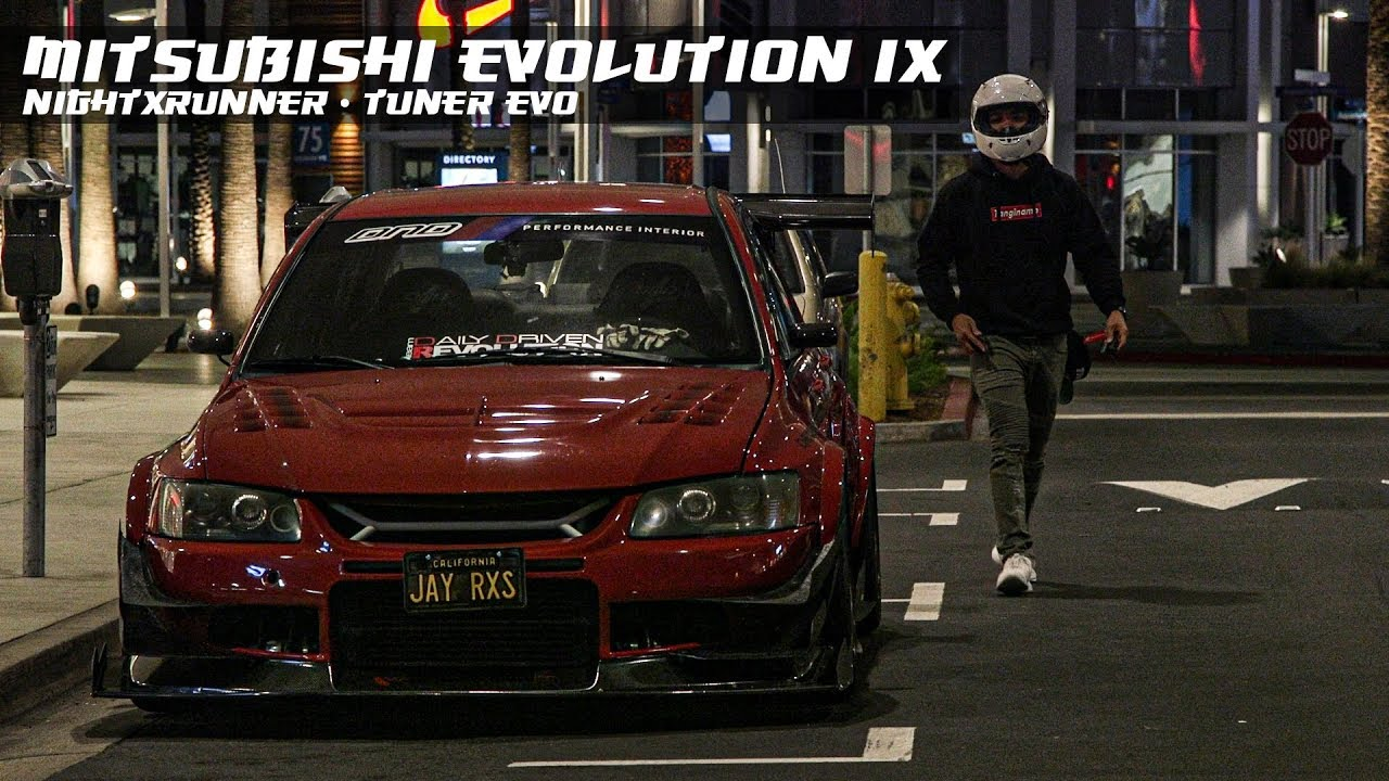 Download MITSUBISHI EVOLUTION IX - NIGHTRUNNER   Tuner Evo  