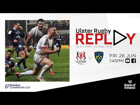 FULL GAME | Ulster V ASM Clermont | Champions Cup 2019