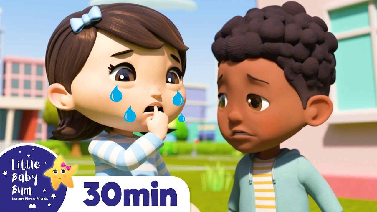 Wobbly Tooth – Going to The Dentist | Nursery Rhymes | Healthy Habits | Learn with Little Baby Bum