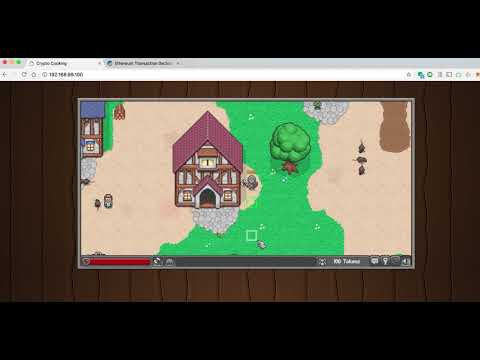 Multiplayer RPG Dapp running on Ethereum Smart Contracts