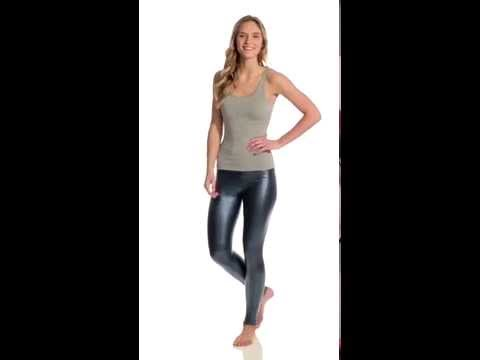 American Apparel Metallic Legging   SwimOutlet.com
