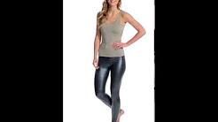 American Apparel Metallic Legging | SwimOutlet.com