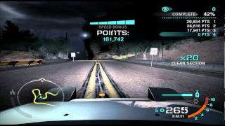 NFS Carbon (PC) // Drift / Silver canyon challenge - 10.004.000 pts [former WR]