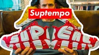 "Коллаб года! Nike x Supreme ""SUPTEMPO"""