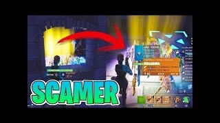 ... I TAKE ALL INVENTORY TO A SCAMMER!! Fortnite: Saving the World