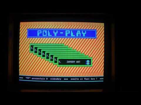 Poly-Play (VEB Polytechnik Karl-Marx-Stadt, Ende 1980er Jahre) Arcade Spielautomat tschechische ROMs