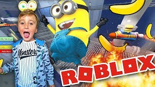 🍌 Ratujemy Gru, Dru i Minionki! Roblox na Xbox One #2 (YOU ESCAPED THE MINIONS)