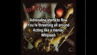 Motörhead  Whiplash with Lyrics
