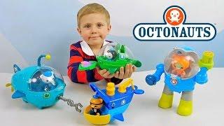 ОКТОНАВТЫ и Даник - Играем с Пейзо и его лодкой. Видео для ребёнка. Octonauts Toys