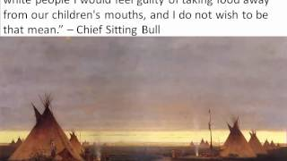 GPS SSUSH 12c Sitting Bull and Wounded Knee [Video 67]