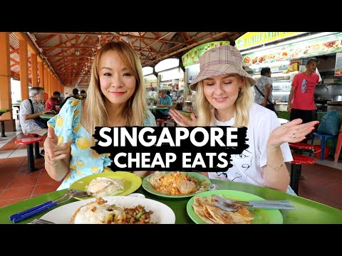 Delicious MUST-TRY Cheap Eats In Singapore! Maxwell Food Centre