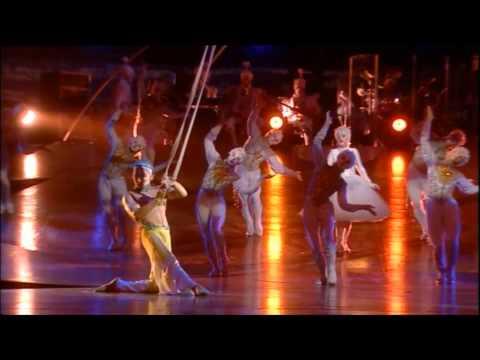 Cirque du Soleil Alegria - Flying man