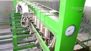 Многоэлектродный сварочный точечный аппарат.(В данном видео показан обзор и работа 15-ти электродной контактной сварки.Самодельная точечная сварка приме..., 2014-05-07T20:39:45.000Z)