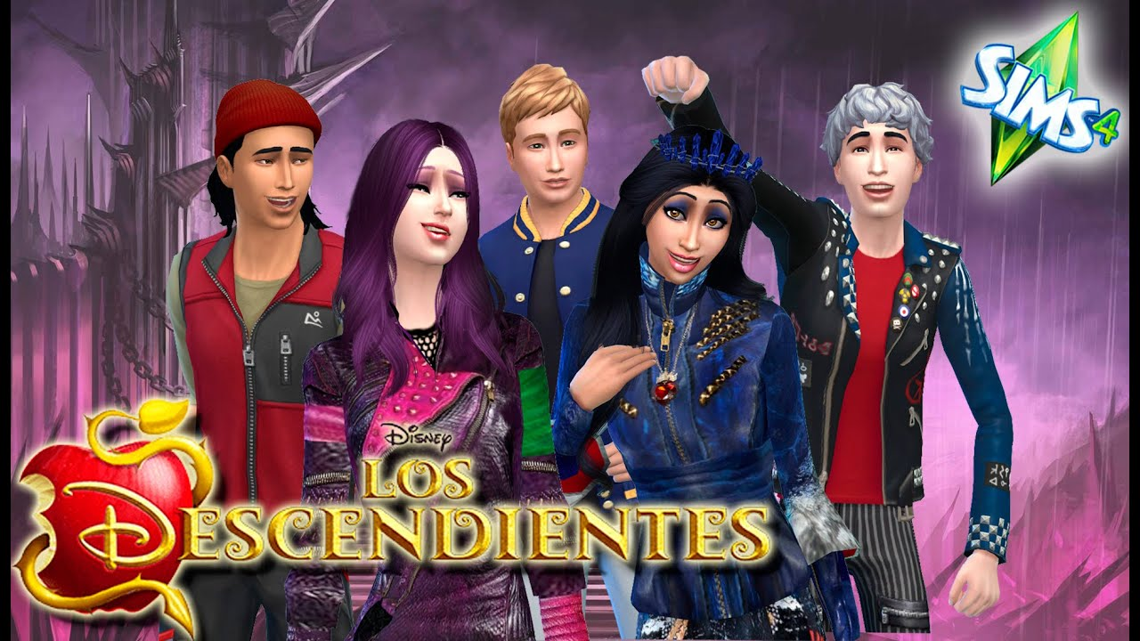 Los Descendientes Los Sims 4 Disney 10 Youtube
