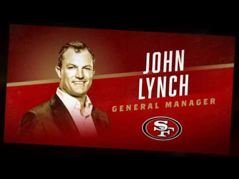 Welcome to the 49ers John Lynch