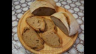 Рецепт ЦЕЛЬНО ЗЕРНОВОГО хлеба без ДРОЖЖЕЙ