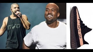Drake Disses Kanye West 'Yeezy 350' Shoes in his new song & tells women not to wear them around him