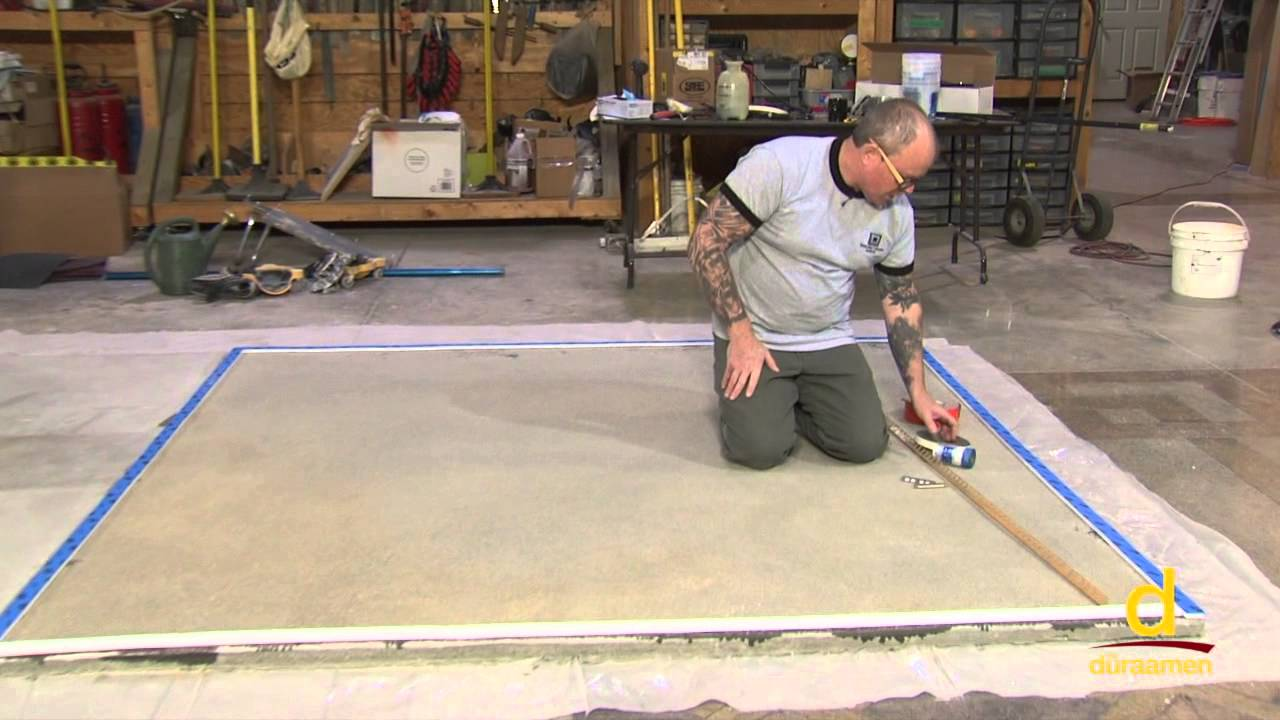 How to Polish Self-Leveling Concrete Overlay - Part 2