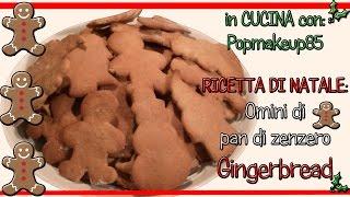 Biscotti Pan Di Zenzero (gingerbread) In Cucina Con Popmakeup85