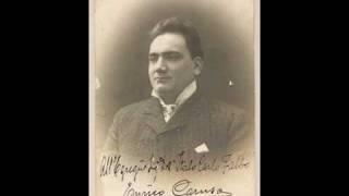 Enrico Caruso - Donizetti: Deserto in terra (1908)