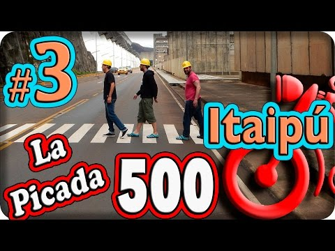 Itaipú, Paraguay. La Picada 500.Episodio (3/8) Viaje en moto por Sudamerica