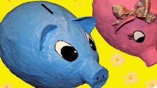 How to make a balloon money box