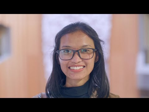 Indonesian student Sita Dewi speaks about her experience at ANU College of Asia & the Pacific