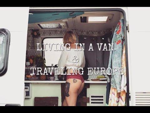 LIVING IN A VAN & TRAVELING THE COAST OF EUROPE / VANLIFE VLOG