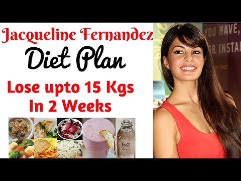 Jacqueline Fernandez Diet Plan For Weight Loss हिंदी में | How to Lose Weight Fast upto 10kgs