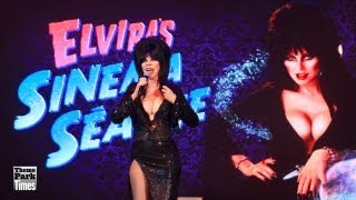 Knott's Scary Farm - Elvira's Sinema Seance 2013 - Full Show - Front Row/Center