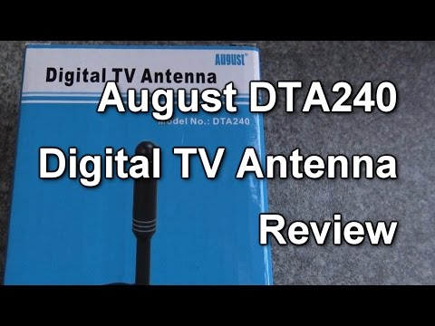 Review: August DTA240 TV aerial