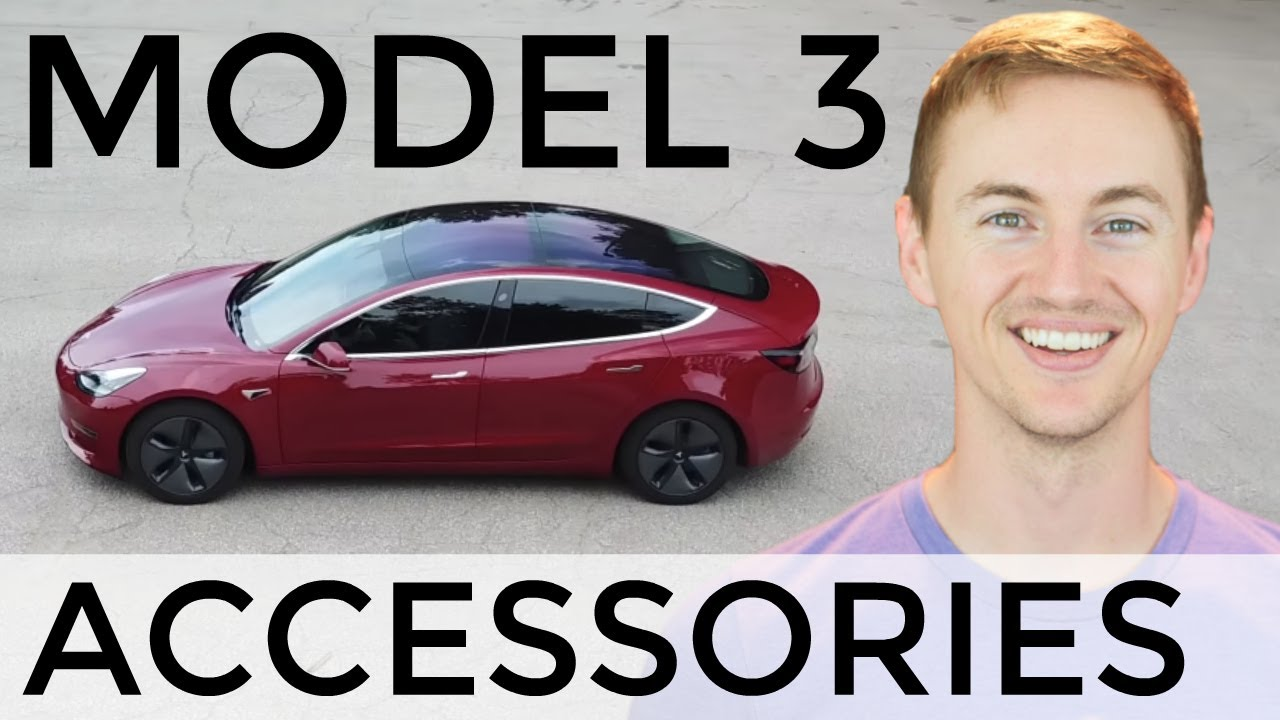 Top 8 Must-Have Tesla Model 3 Accessories!